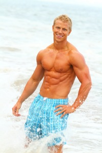 EXCLUSIVE: 'Bachelorette' contestant Sean Lowe strikes a pose in modelling photos from 2010