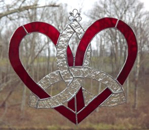 heart of stained glass