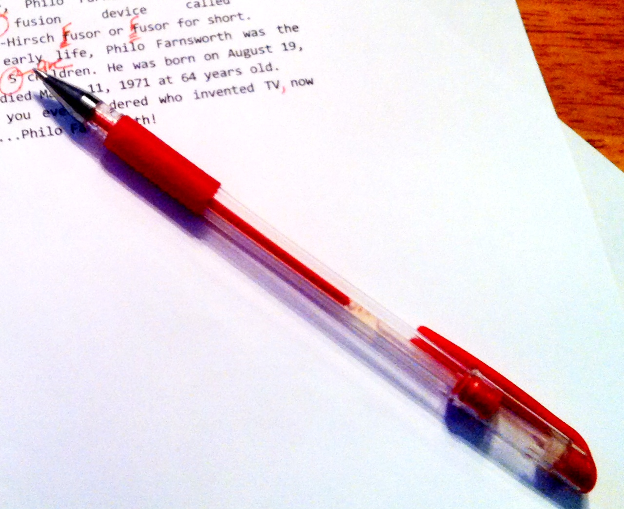 writer s funk from grind to whine red pen