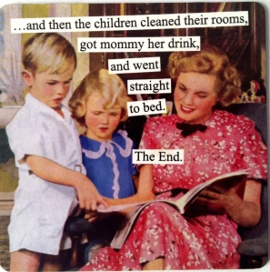 mommy kids drink magnet