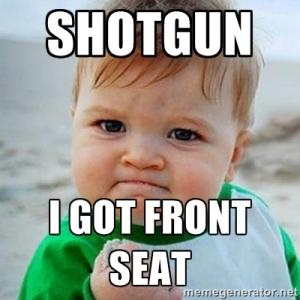 Shotgun baby meme